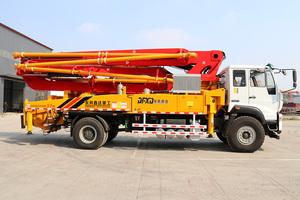 37米重汽斯太爾底盤泵車