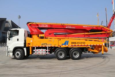 44米五十鈴底盤泵車