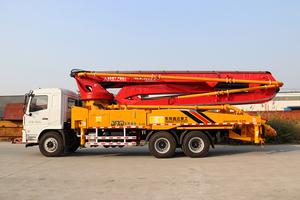 52米陝汽底盤泵車
